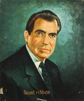 Portrait of President Richard M. Nixon