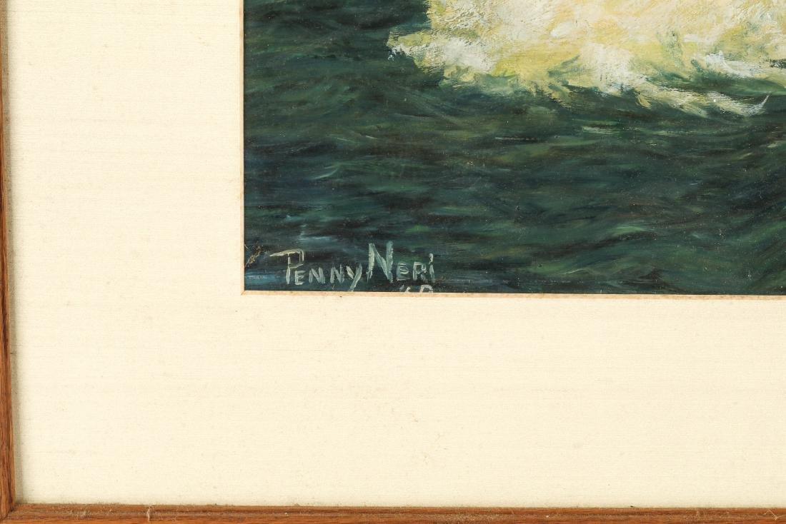 Penny Neri (American, 20th c.) Sailboat at Sunset - 2