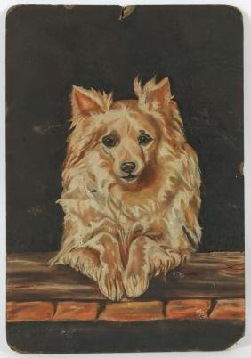 Anonymous Artist (20th c.) Dog Portrait