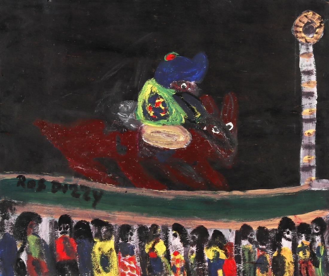 Ras Dizzy (Jamaican, 1932-2008) Figure on Horseback