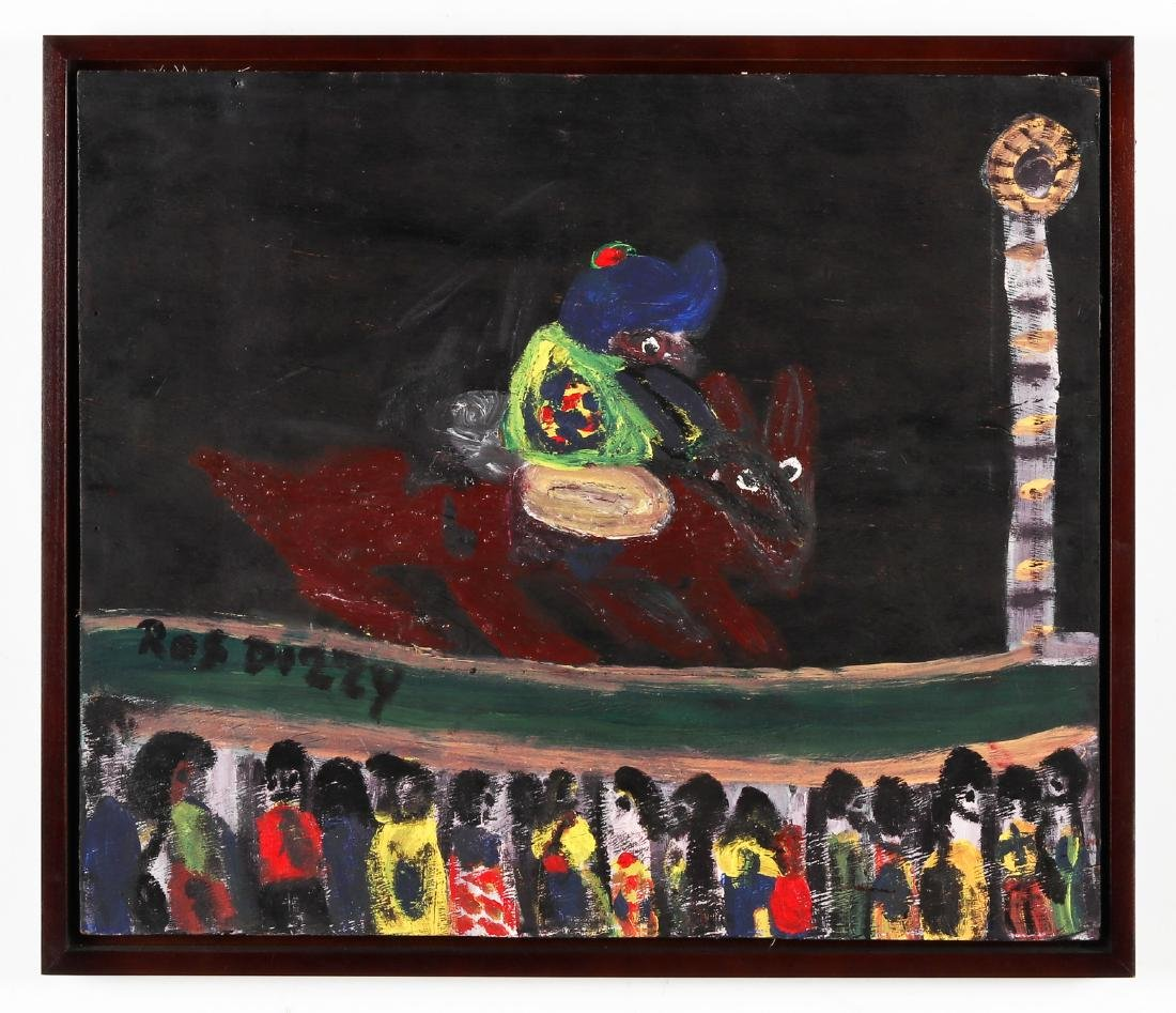 Ras Dizzy (Jamaican, 1932-2008) Figure on Horseback - 2