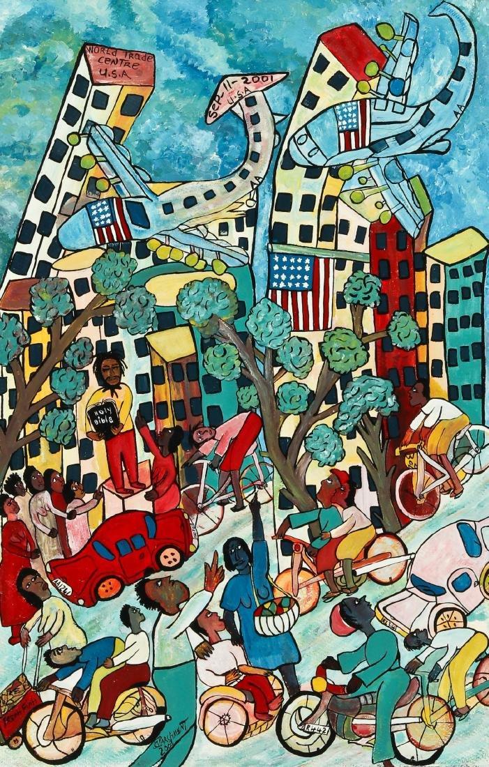 Michael Parchment (1957-2013) World Trade Center Attack