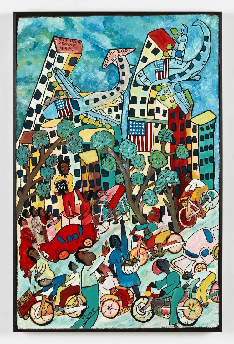 Michael Parchment (1957-2013) World Trade Center Attack - 2