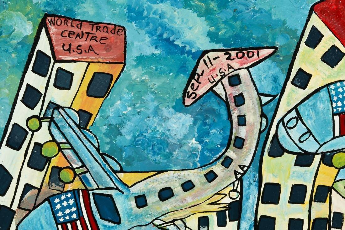 Michael Parchment (1957-2013) World Trade Center Attack - 3