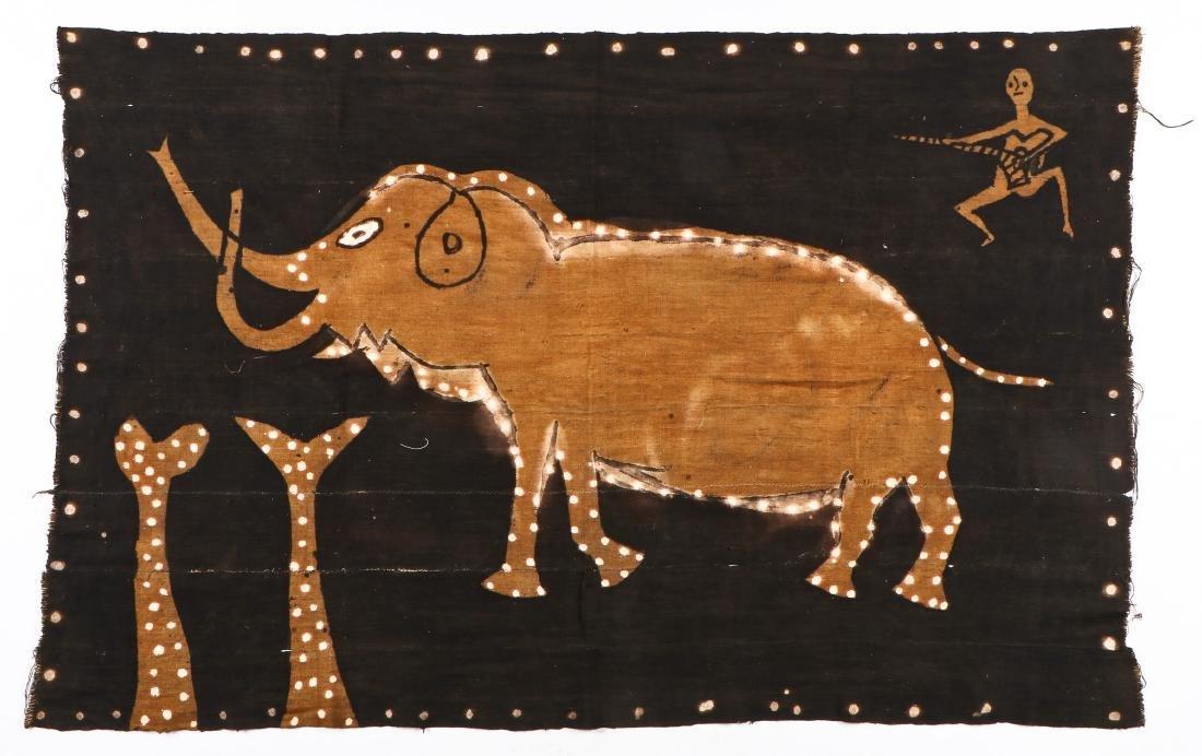 African Bamana Painted Mudcloth (Mali)