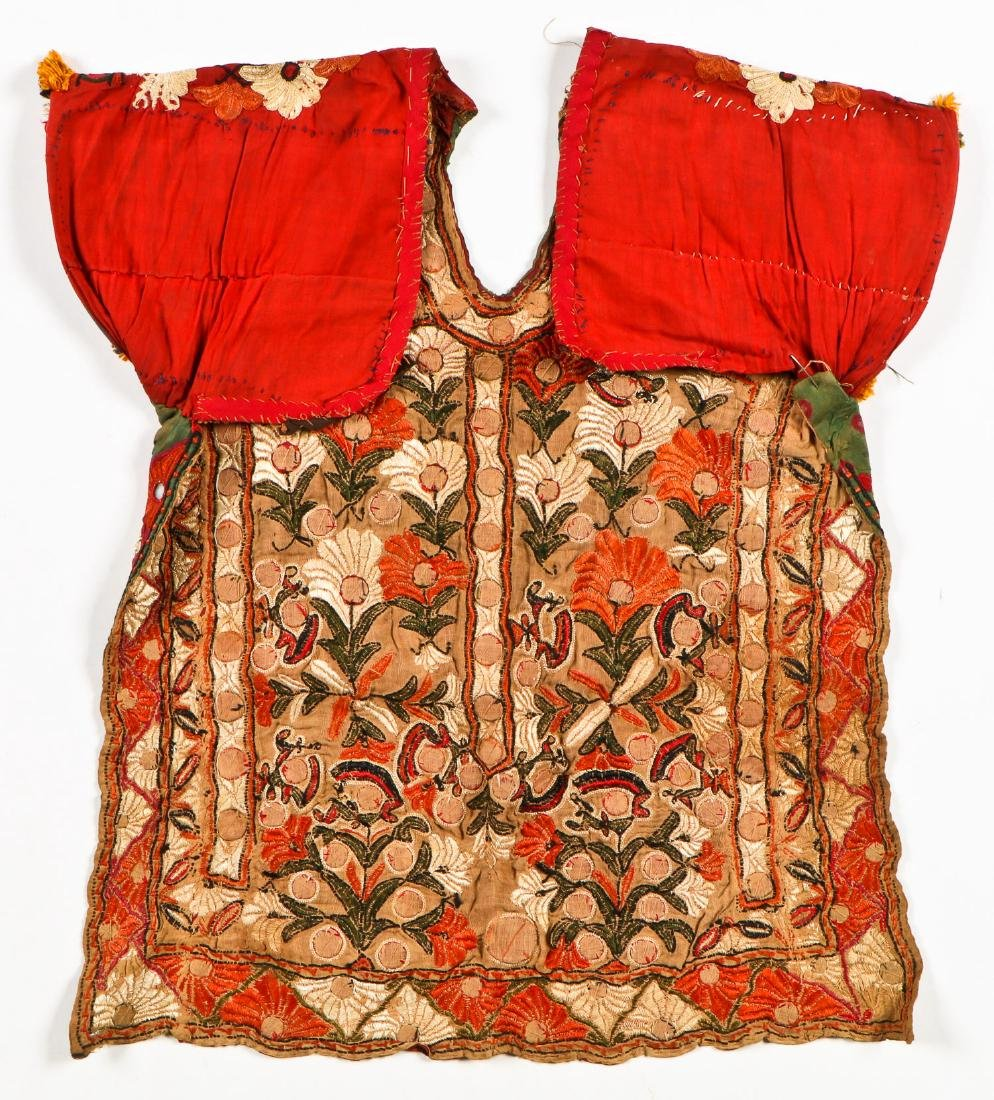 2 Sind Embroidered Blouses w. Mirrors - 3