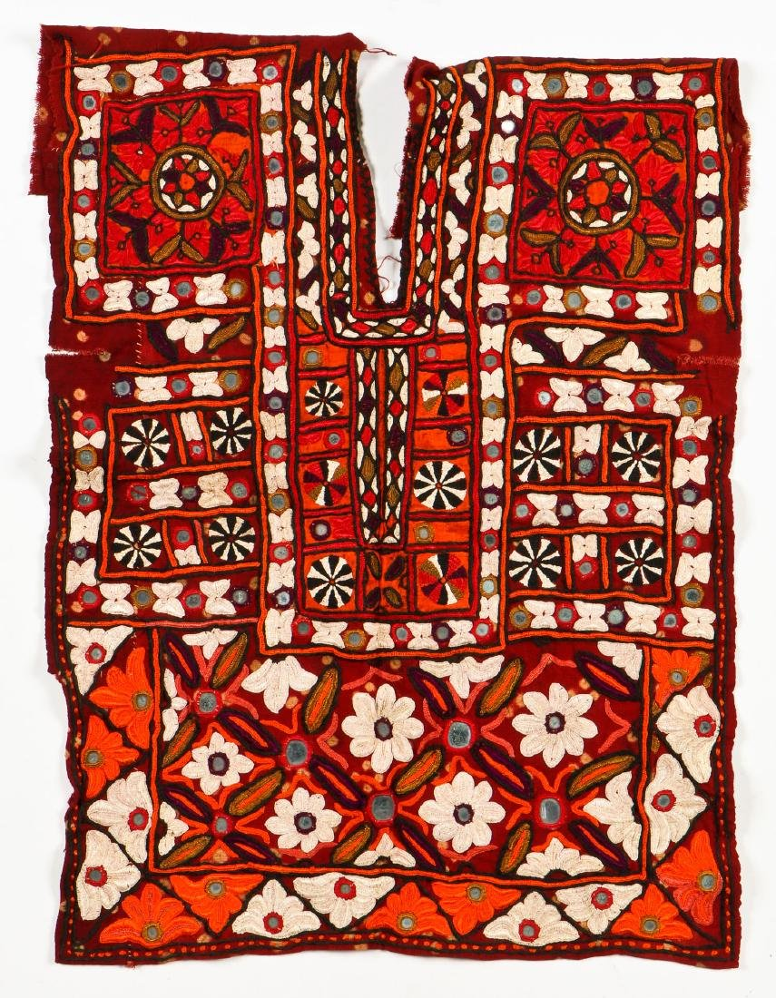 2 Sind Embroidered Blouses w. Mirrors - 4