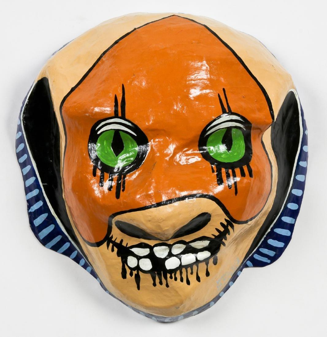 Didier Civil (Haitian/Jacmel, b. 1973) Zombie Carnaval
