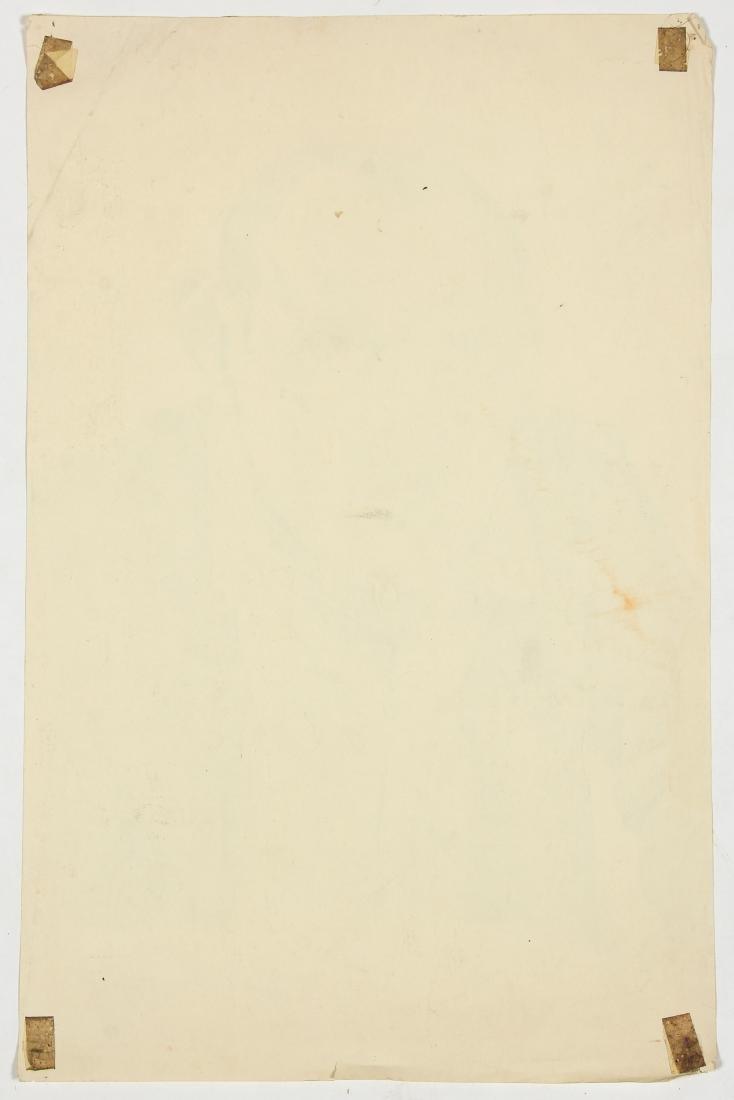 Jerry Cogburn (20th c.) Two Self-portraits - 7