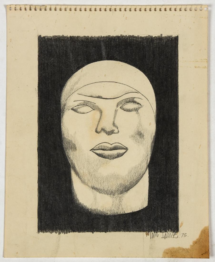 Manuel Lanz (American, 20th c.) Head, 1975 - 2