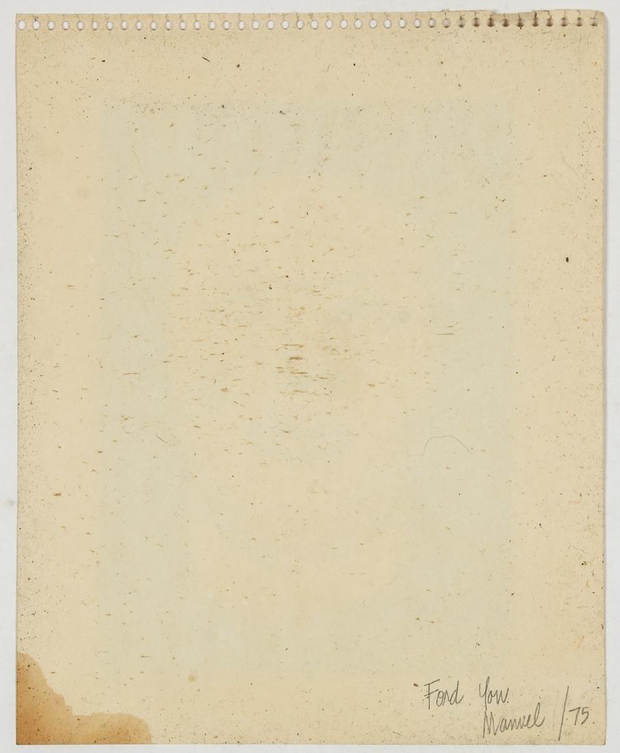 Manuel Lanz (American, 20th c.) Head, 1975 - 4