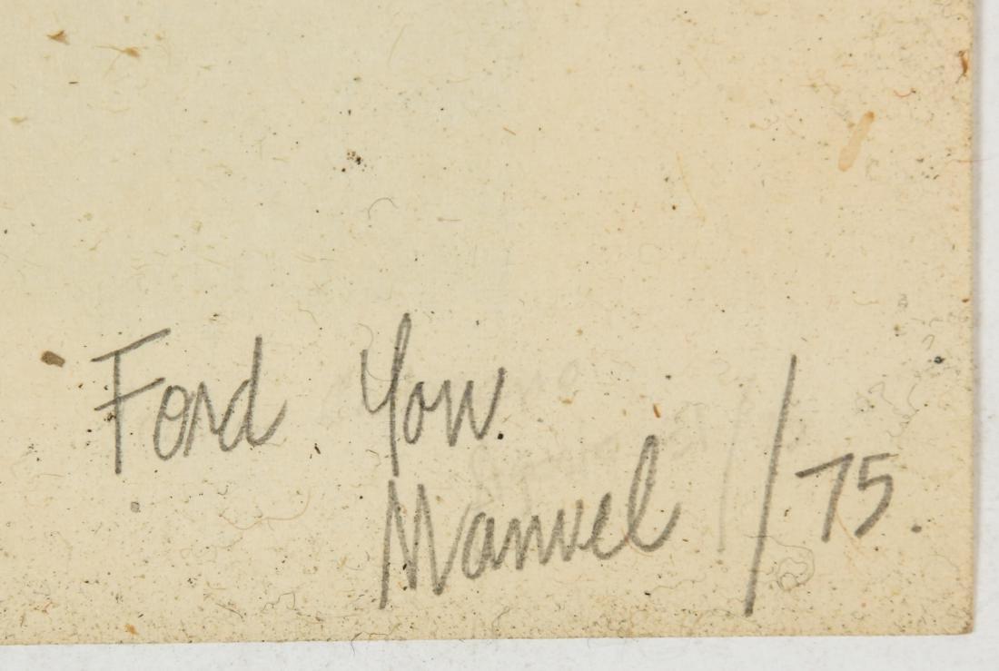 Manuel Lanz (American, 20th c.) Head, 1975 - 5