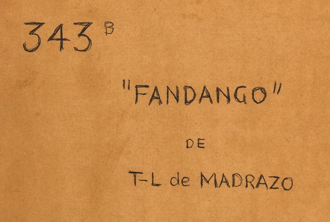 """Tito-Livio de Madrazo (1899-1979) """"Fandango"""" - 5"""