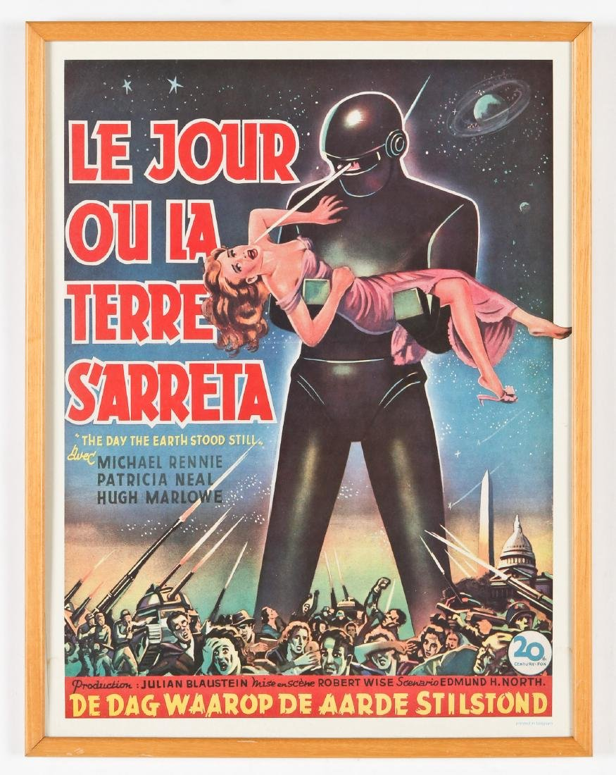 Vintage Movie Poster: ''The Day the Earth Stood Still'' - 2