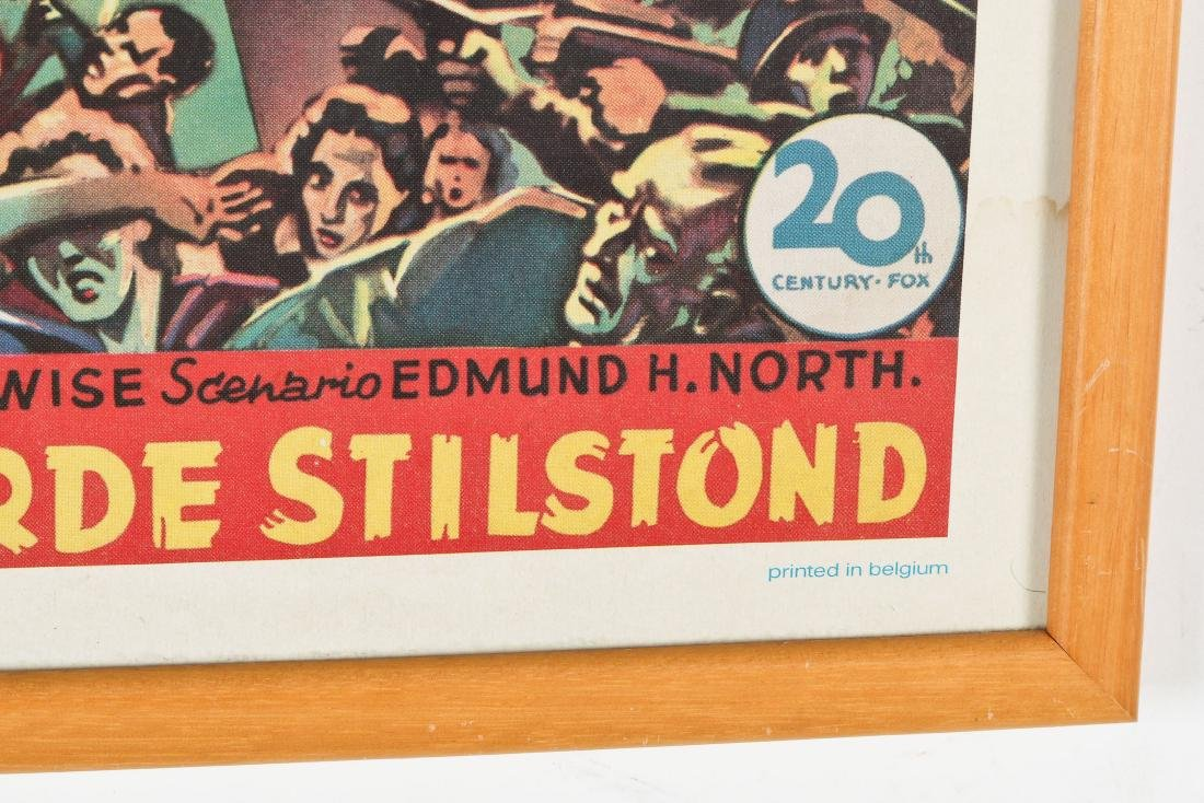 Vintage Movie Poster: ''The Day the Earth Stood Still'' - 3