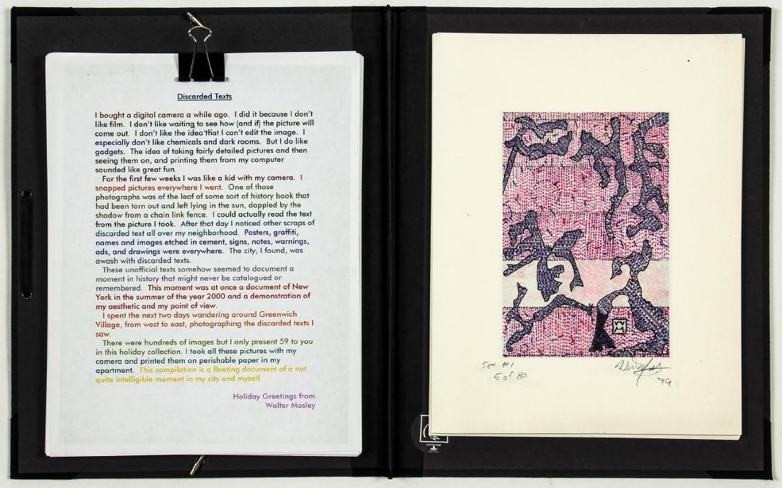 Walter Mosley (American, b.1952) Portfolio - 2