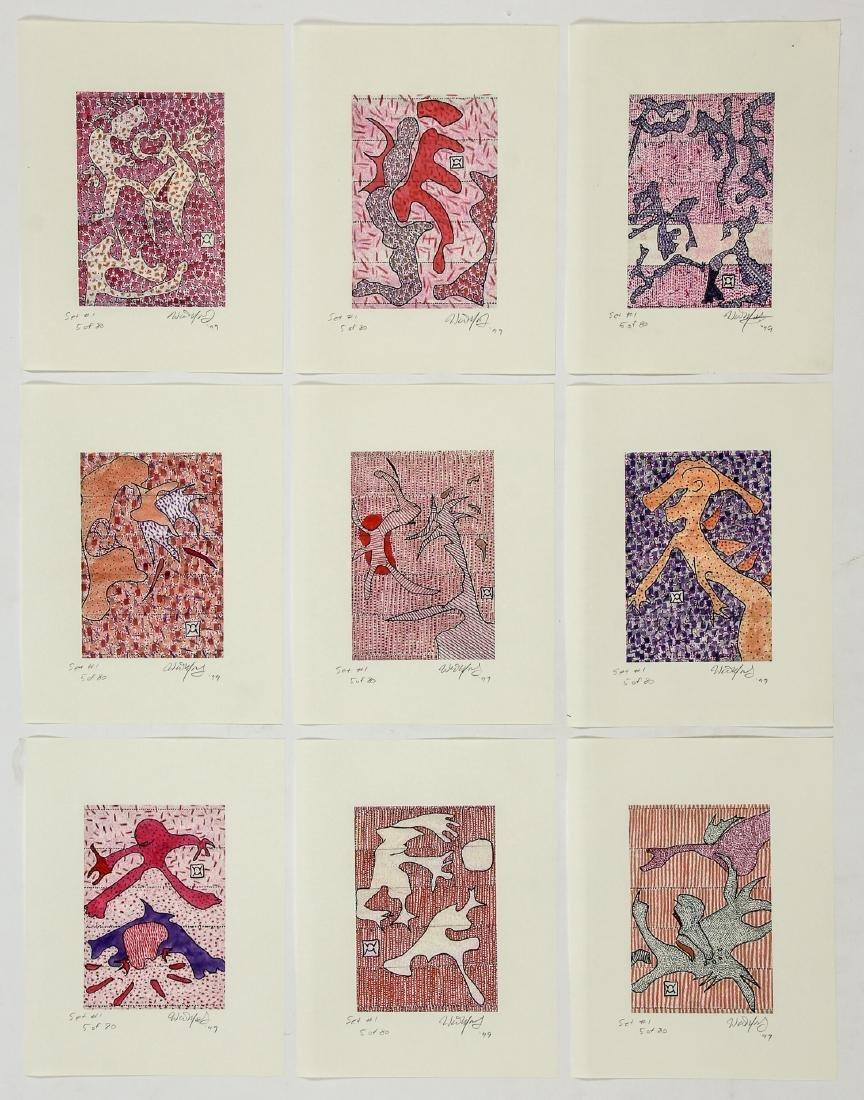 Walter Mosley (American, b.1952) Portfolio - 3