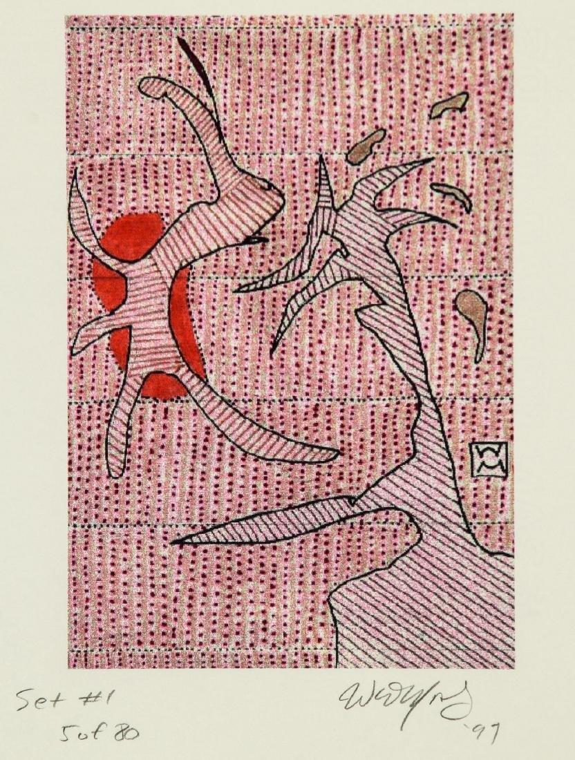 Walter Mosley (American, b.1952) Portfolio - 4