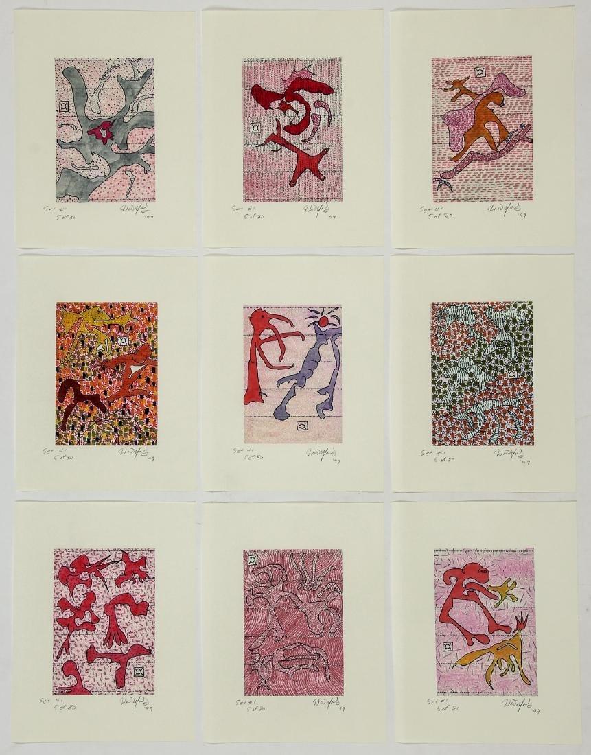Walter Mosley (American, b.1952) Portfolio - 5