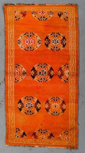 Antique Tibetan Rug: 3'0'' X 5'0''
