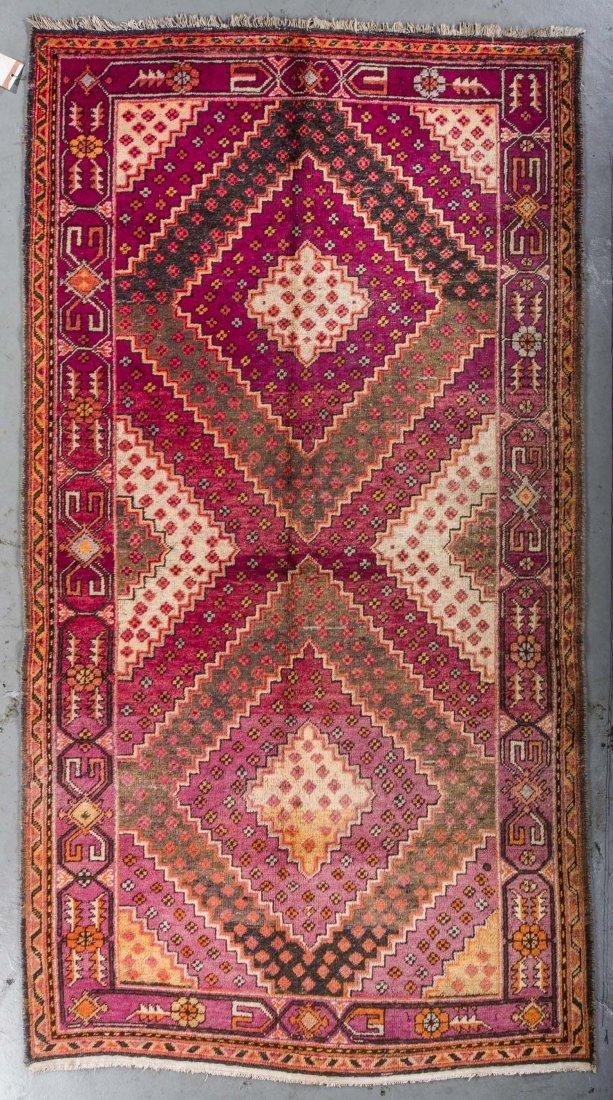 Antique Samarkand Rug: 4'8'' x 8'5''