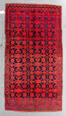 Antique Qinghai Rug: 5'3'' X 9'10''