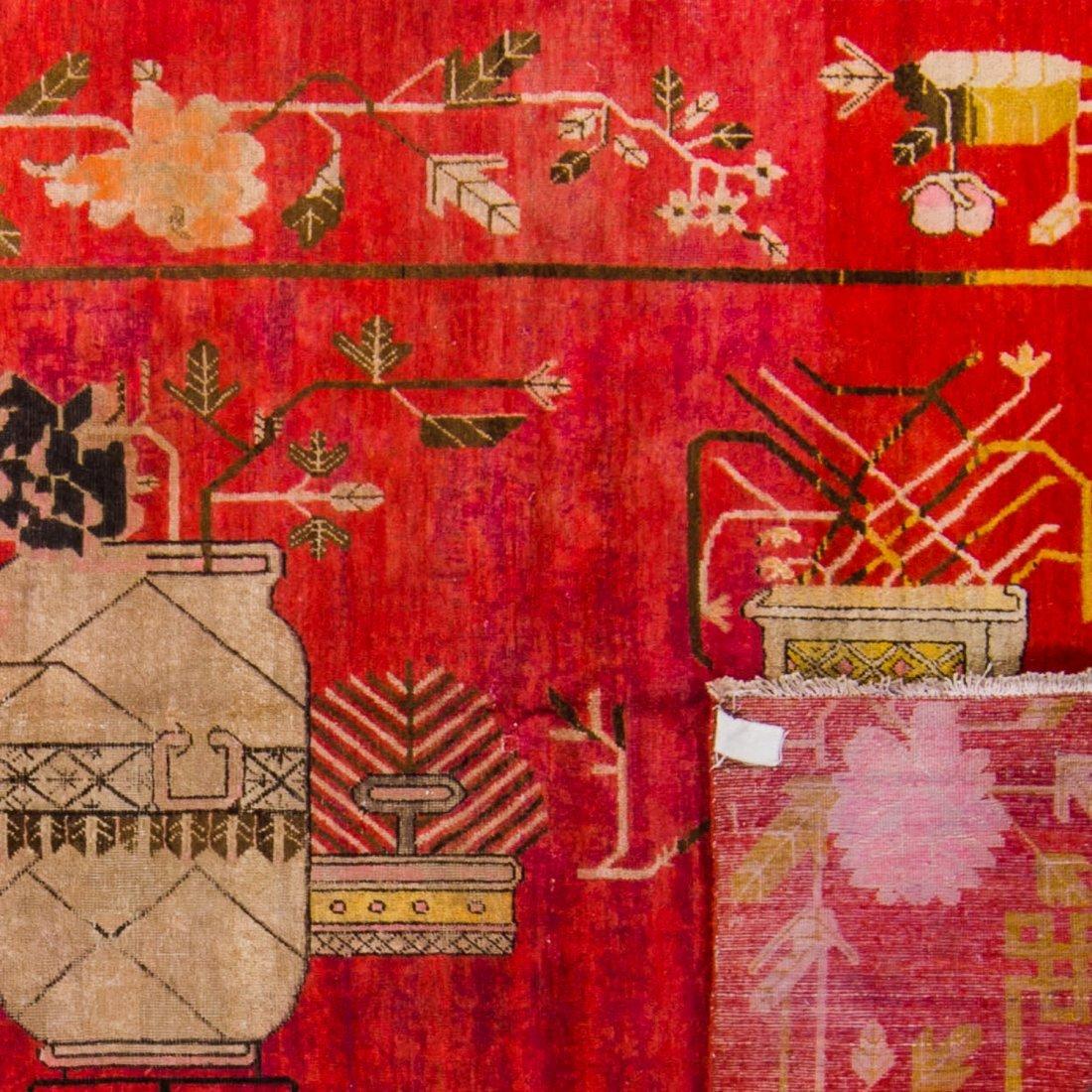 Antique Samarkand Rug: 5'11'' x 11'6'' - 2