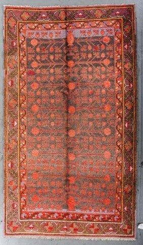 Antique Samarkand Rug: 4'8'' X 8'0''