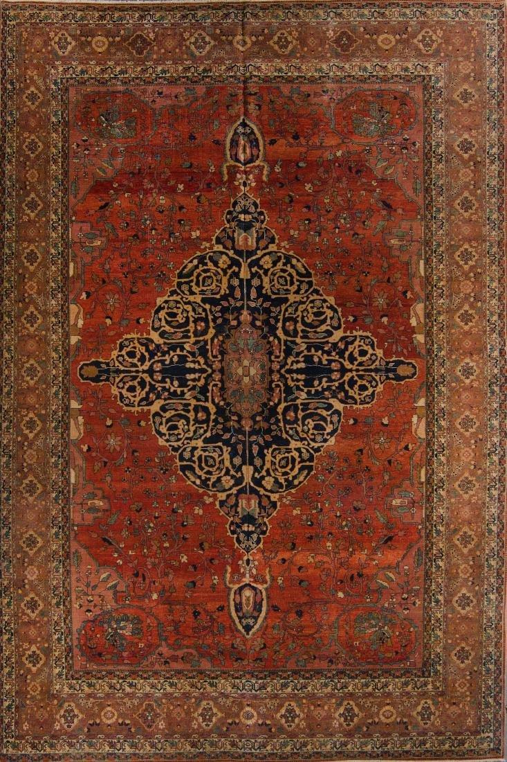 Sarouk Ferahan Style Rug:  9'0'' x 13'11''