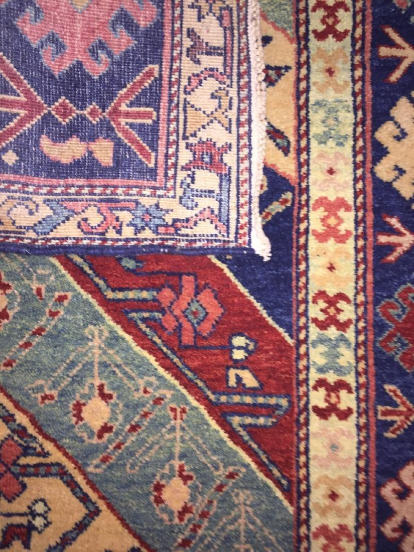 Caucasian Style Rug: 2'5'' x 10'4'' - 2