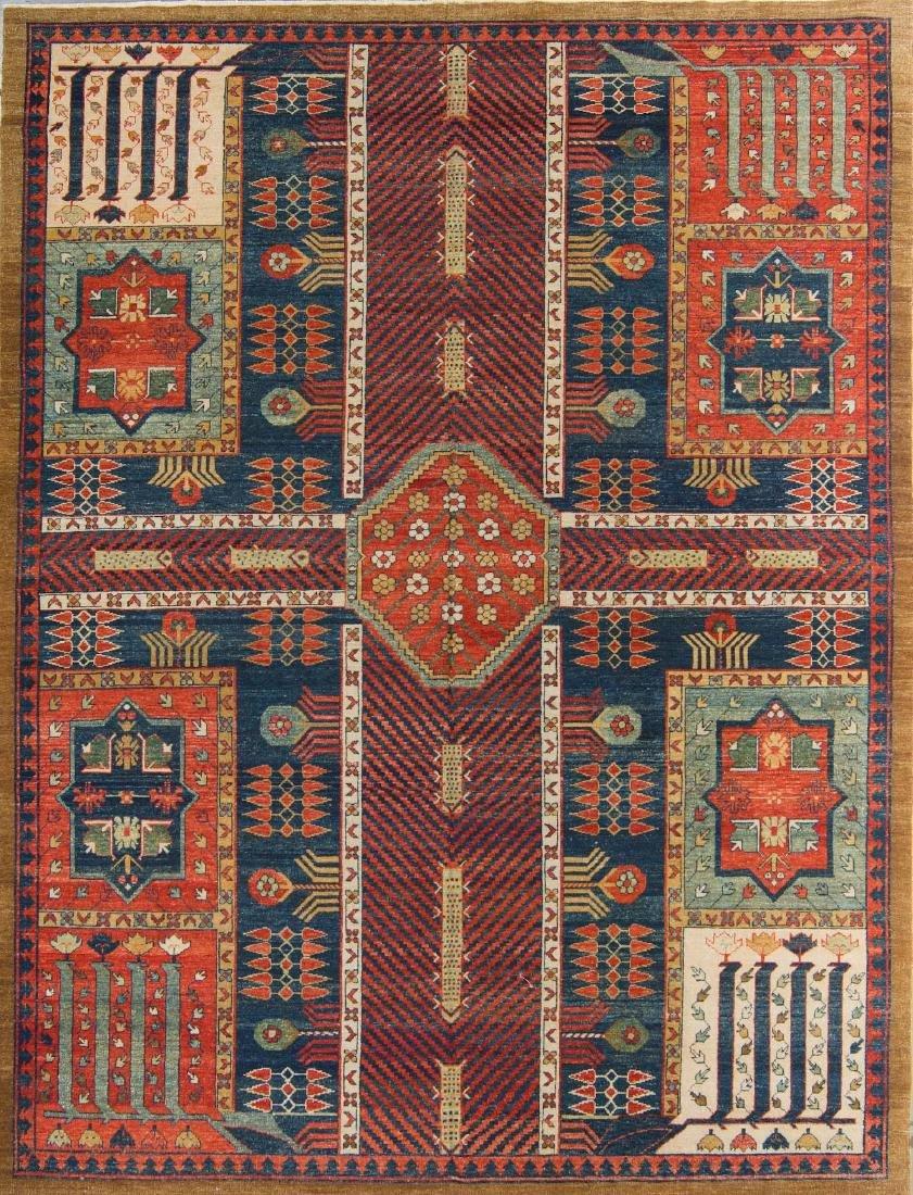 Kurdistan Style Rug: 9'1'' x 12'1''