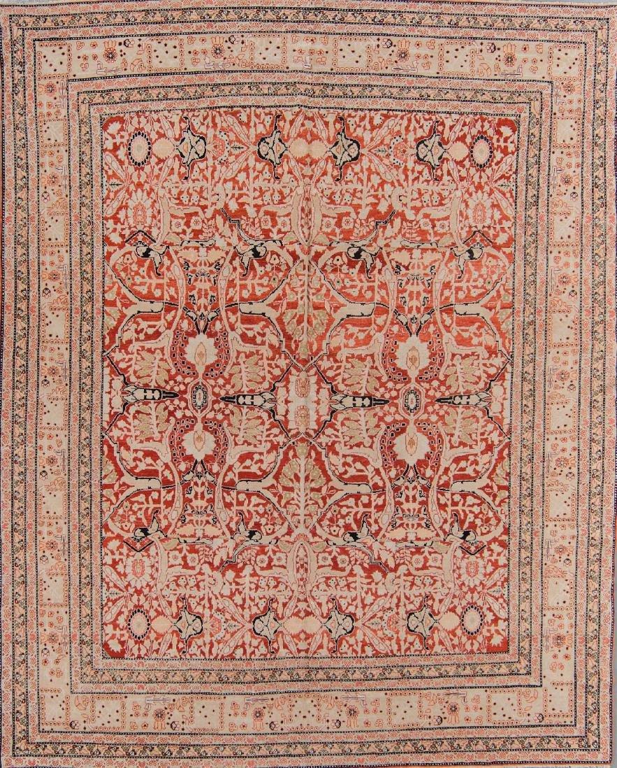 Tabriz Style Rug: 8'0'' x 10'2''