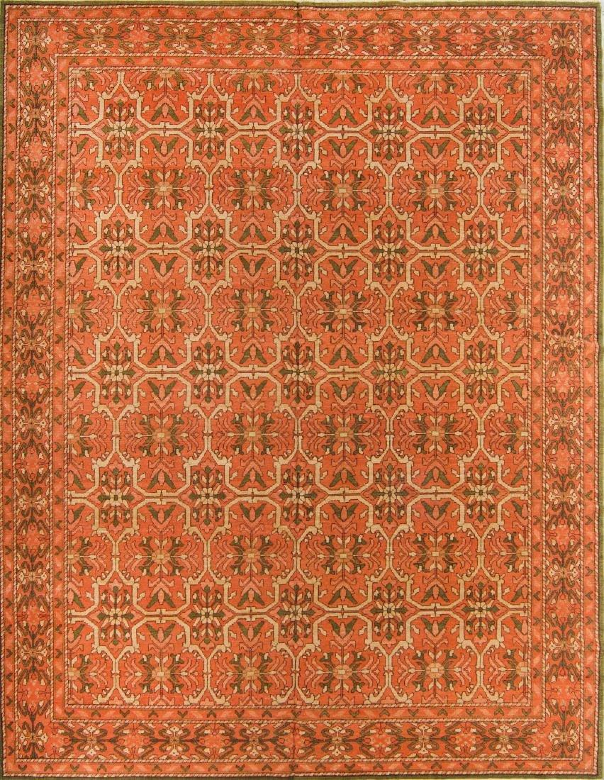 Khotan Style Rug: 9'3'' x 12'1''