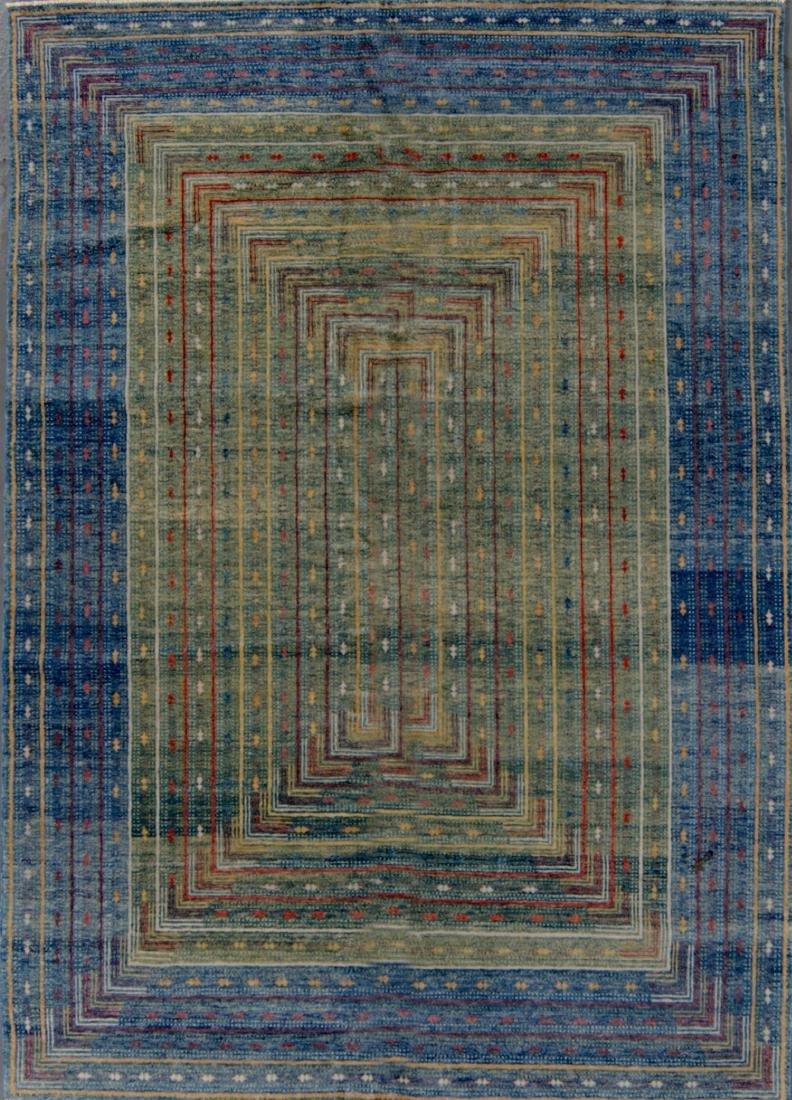Fine Gabbeh Style Rug: 4'11'' x 7'0''