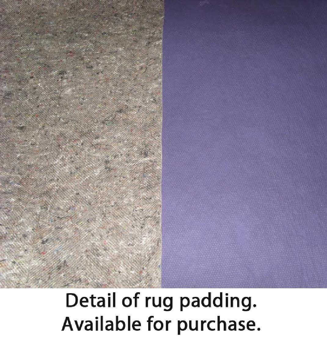 Ikat Sari Silk Rug: 5'3'' x 7'6'' - 4