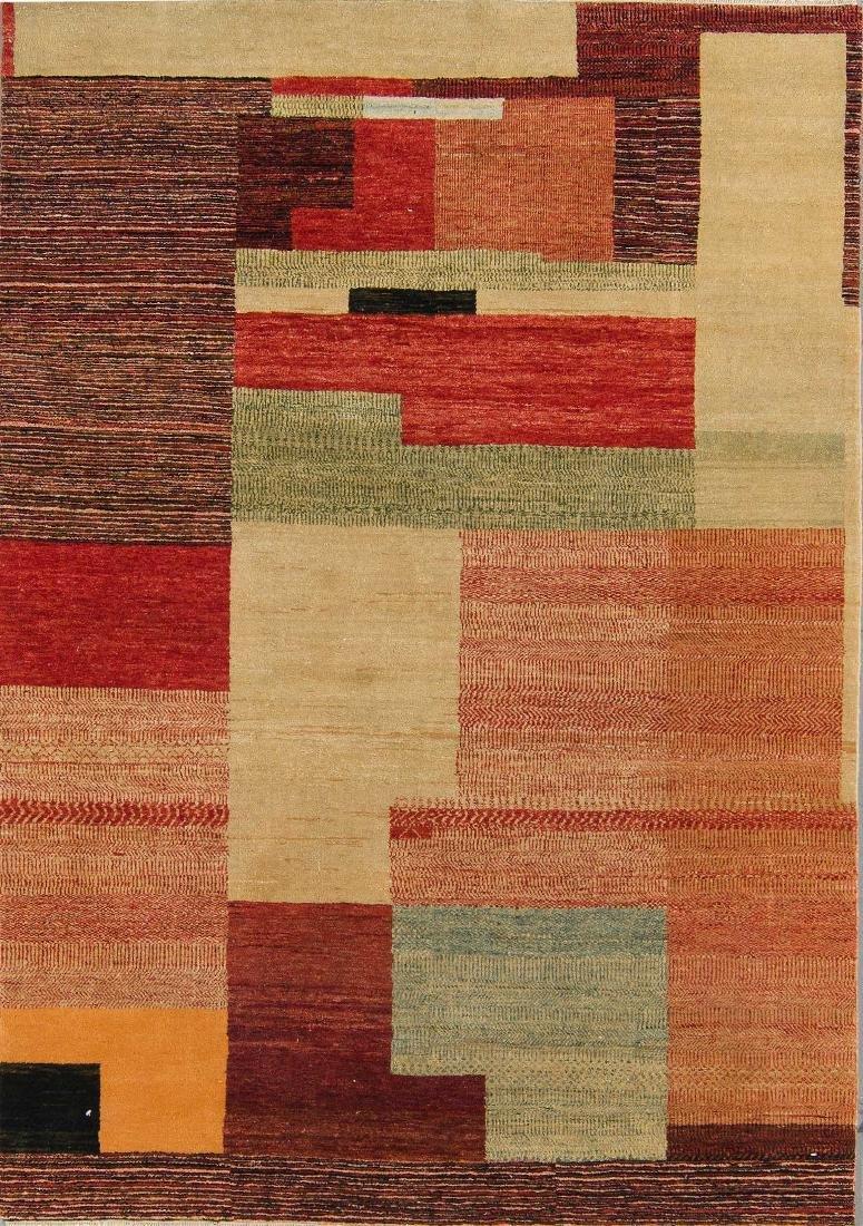 Teddy Sumner Design Mahindra Rug: 5'0'' x 7'2''