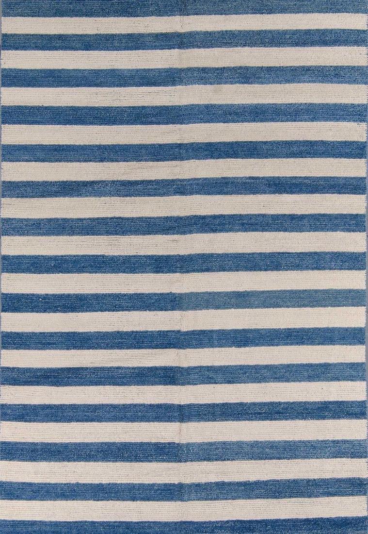 Tibetan Stripes Rug: 6'2'' x 9'4''