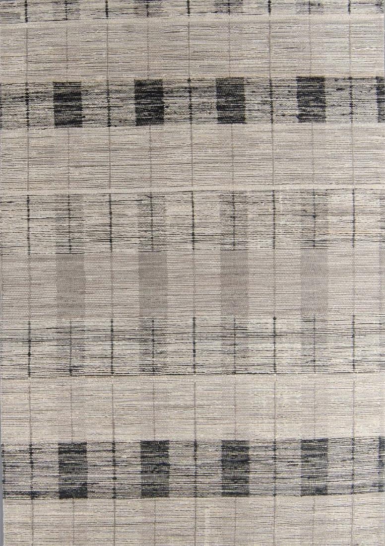 Teppich Jacquard Woven Jute/Wool Rug: 6'2'' x 9'0''