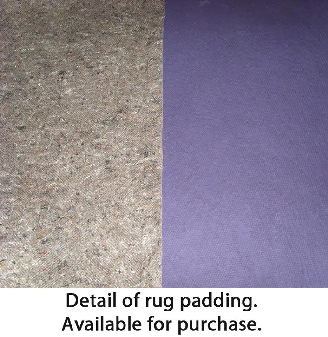 Teppich Jacquard Woven Jute/Wool Rug: 6'2'' x 9'0'' - 4