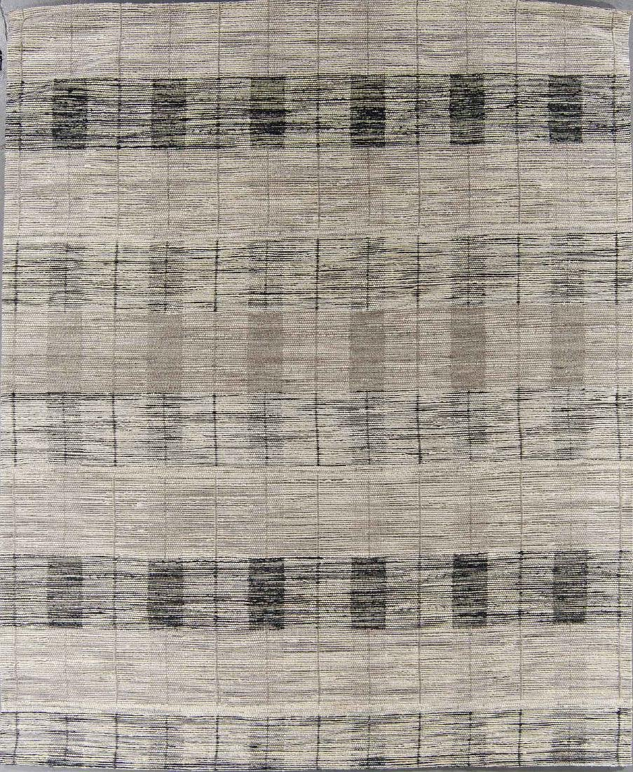 Teppich Jacquard Woven Jute/Wool Rug: 8'1'' x 9'10''