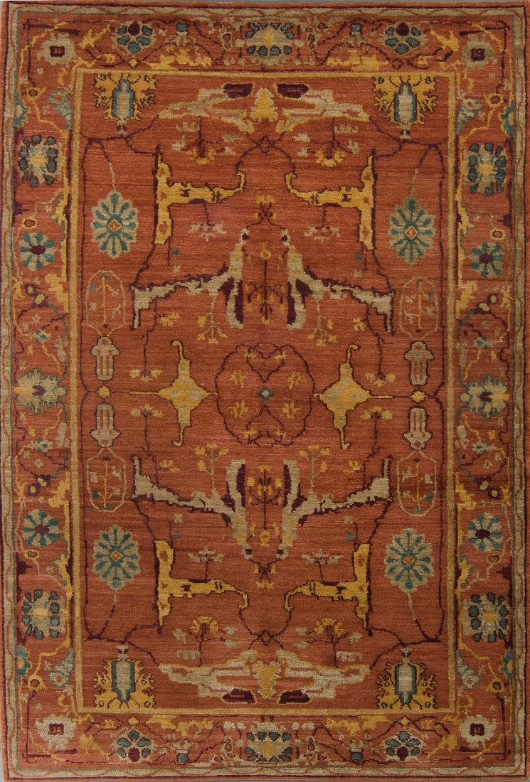 Tibetan Dekyi Rug: 6'3'' x 9'2''