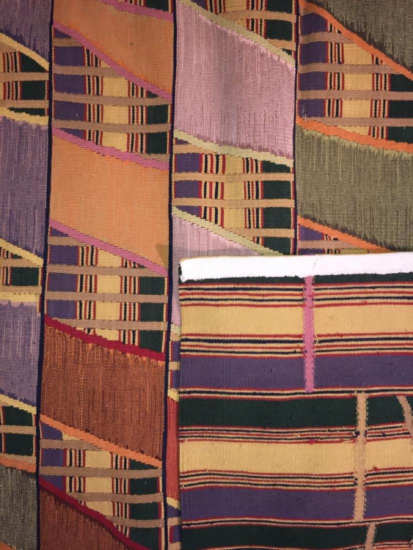 Rumal Ashanti Wool Kilim: 5'11'' x 8'10'' - 2