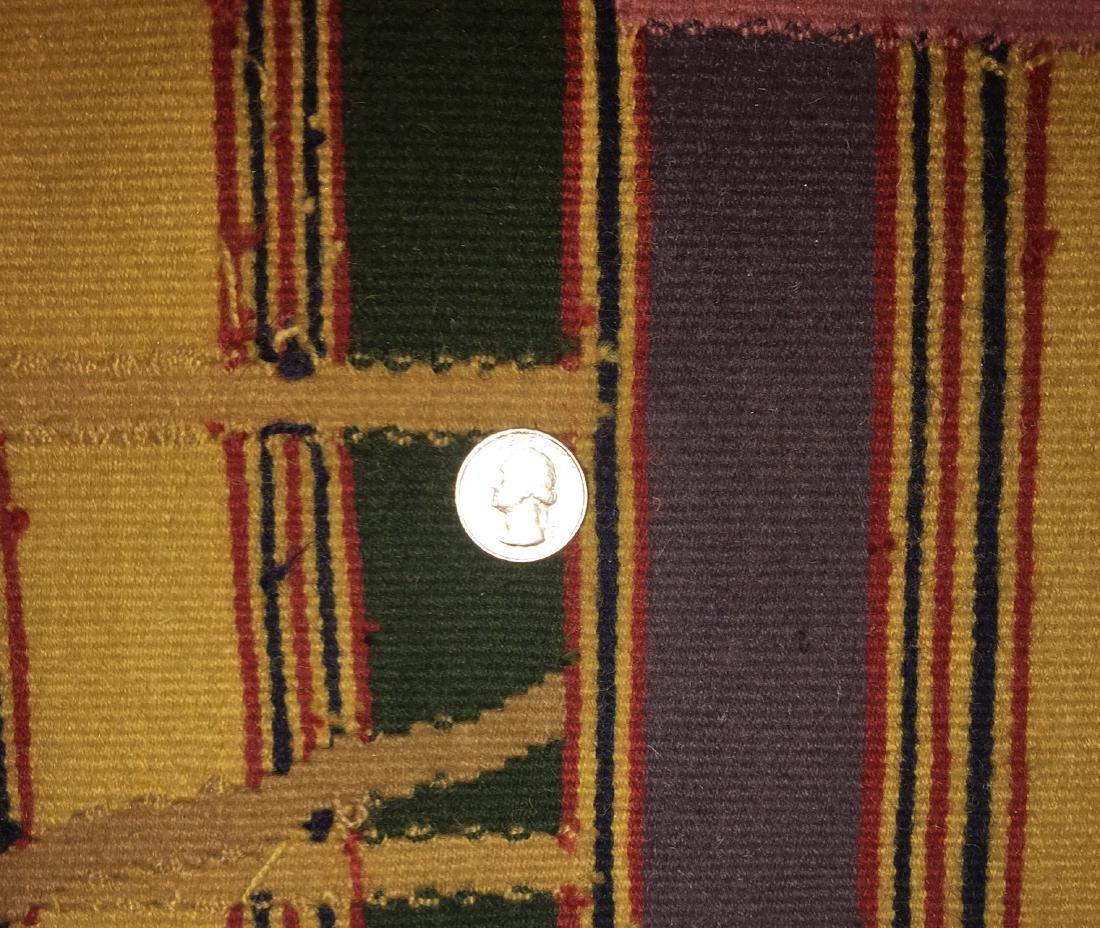 Rumal Ashanti Wool Kilim: 5'11'' x 8'10'' - 3