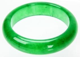 Fine Chinese Jade Or Hardstone Bangle