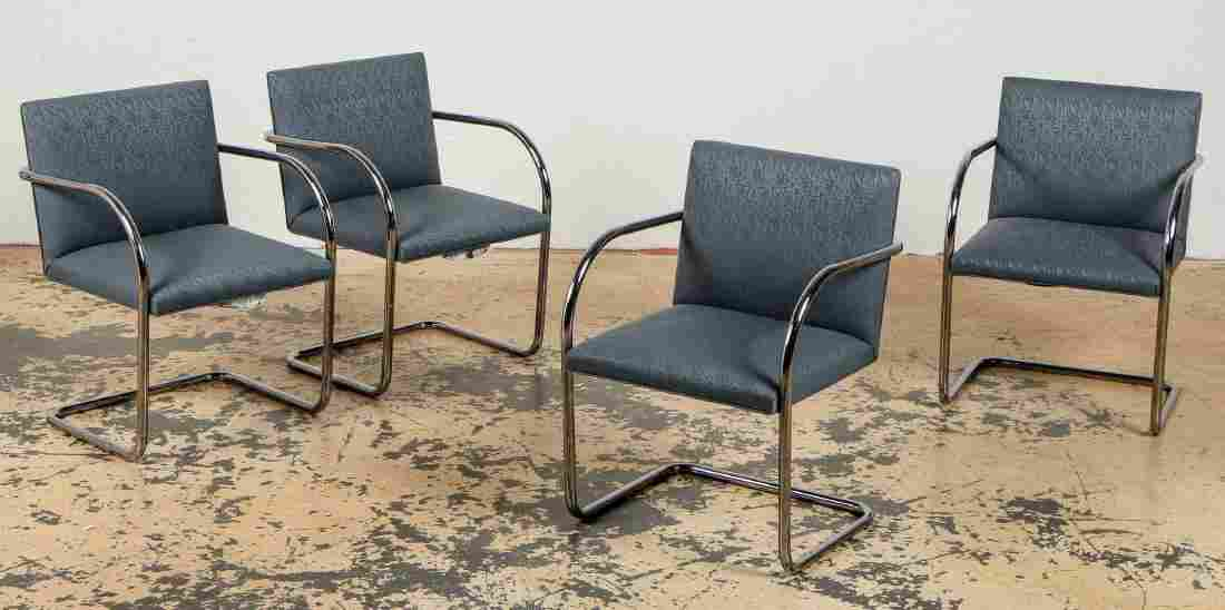 Set of 4 Knoll Brno Chairs