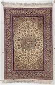 Fine Vintage Isfahan Rug: 3'7'' x 6'10''
