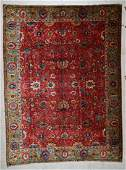 Antique Continental Sultanabad Style Wool Rug 88 x