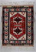 Vintage Turkish Rug 38 x 48 112 x 142 cm