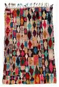 Vintage Moroccan Rug: 5'11'' x 8' (180 x 244 cm)