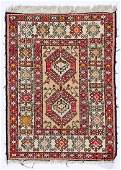 Vintage Sumak Rug: 2'4'' x 3'1'' (71 x 94 cm)